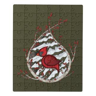Alexander o quebra-cabeça acrílico cardinal