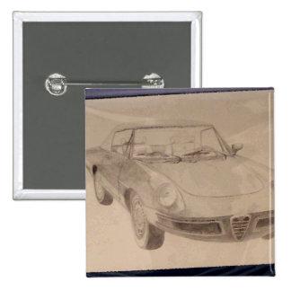 Alfa - carro do desenho da arte de CricketDiane Boton
