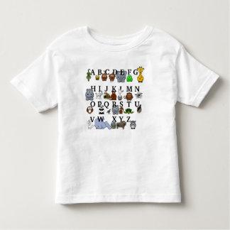 Alfabeto animal t-shirt