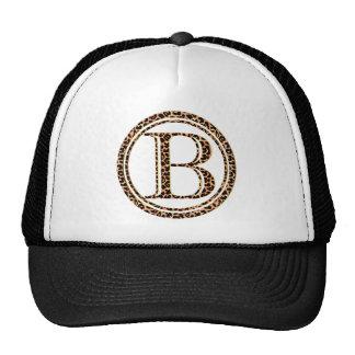 alfabeto B do leopardo Boné