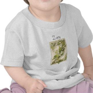 Alfabeto Catherine Klein da flor de Z T-shirts