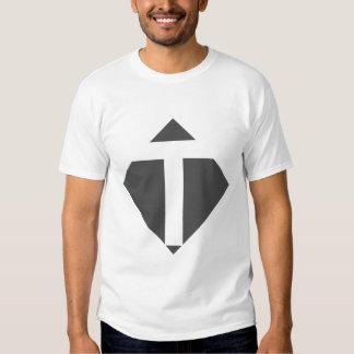 Alfabeto inglês - T Camiseta