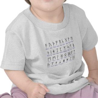 Alfabeto Runic Tshirts