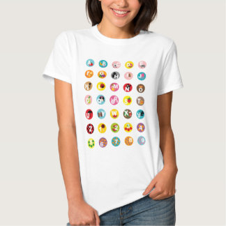 alfabetos t-shirt