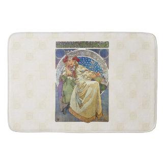 Alfons Mucha Princezna 1911 Hyacinta Tapete De Banheiro