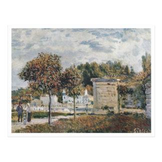 Alfred Sisley - Schwemme von Margoso 1875 Cartoes Postais
