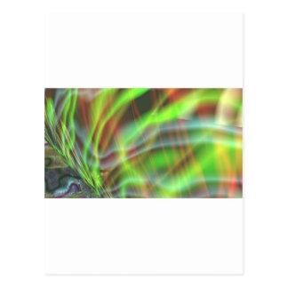 Algea elétrico cartão postal