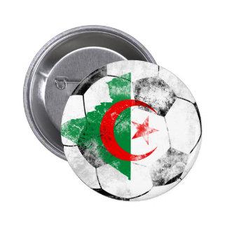 Algeria Distressed Soccer Pins
