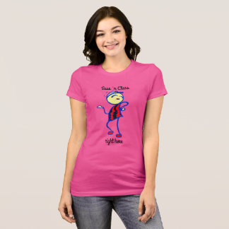 Algodão 100% da classe n do Sass SASSY do t-shirt Camiseta