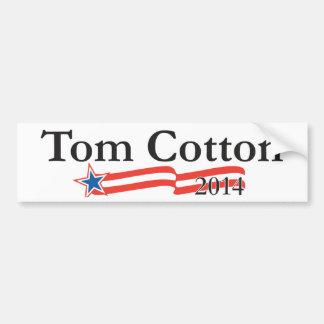 Algodão de Tom para o Senado 2014 Adesivo Para Carro