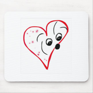 Algodão de Tulear Amor Mousepad