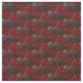 Algodão do tecido dos animais selvagens do tecido