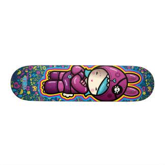 algodão doce shape de skate 20,6cm