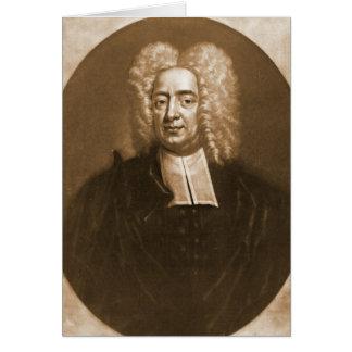 Algodão Mather 1728 Cartão Comemorativo