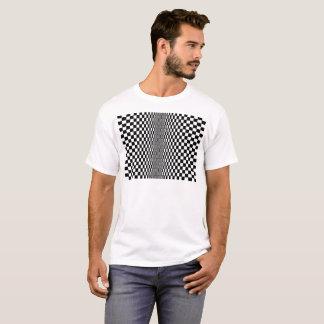 Algoritmo da arte Op Camiseta