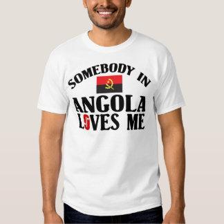 Alguém em Angola T-shirt