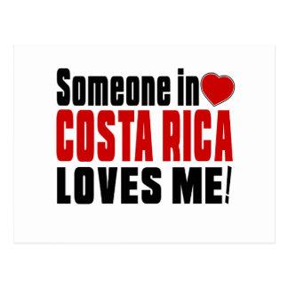 ALGUÉM EM COSTA RICA AMA-ME! CARTÃO POSTAL