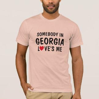 Alguém em Geórgia ama-me camisa