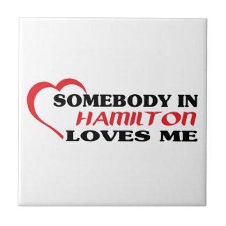 Alguém em Hamilton ama-me