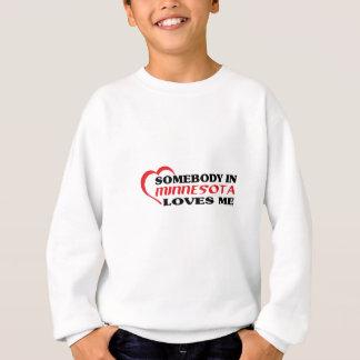 Alguém em Minnesota ama-me camisas