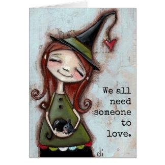 Alguém para amar - o cartão
