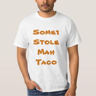 alguém roubou meu taco camiseta
