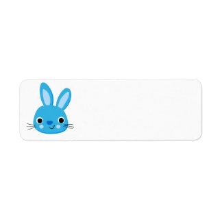 Algum coelho ama-me etiquetas de endereço do