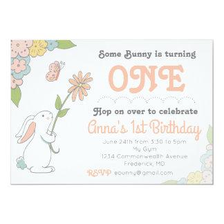 Algum convite do aniversário do coelho