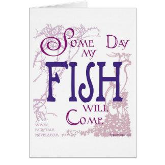 Algum dia meus peixes virão cartão
