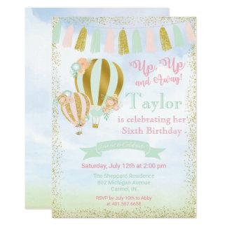 ALGUM EVENTO - convite do balão de ar quente
