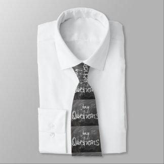Algum texto do conselho de giz das perguntas gravata