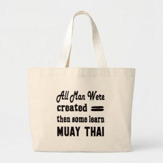 Alguns aprendem tailandês de Muay Sacola Tote Jumbo