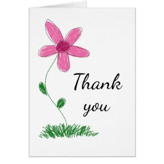 Alguns cartões de agradecimentos da ocasião com
