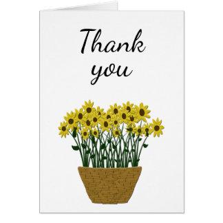 Alguns cartões de agradecimentos da ocasião com a