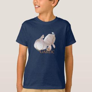 Alho e cravo-da-índia de alho camiseta