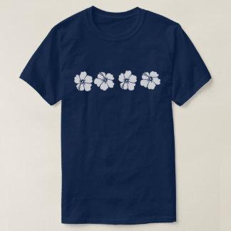 Alhoa - flores do hibiscus camiseta