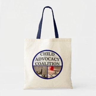 Aliança da defesa da criança sacola tote budget