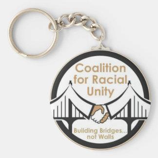 Aliança para a unidade racial chaveiro