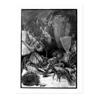 Alice B. Woodward: Cartão da arte do período