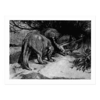 Alice B. Woodward: Cartão da arte do Triceratops