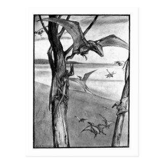 Alice B. Woodward: Cartão da arte dos lagartos de