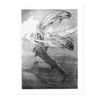 Alice B. Woodward: Cartão Devonian da arte dos