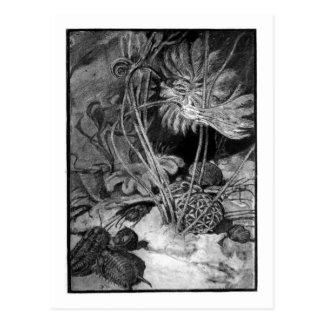 Alice B. Woodward: Cartão marinho da arte do