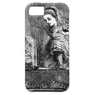 Alice em um espelho capa tough para iPhone 5