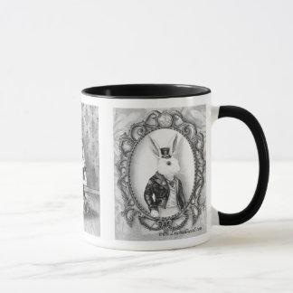 Alice na caneca do gato de Cheshire da caneca do