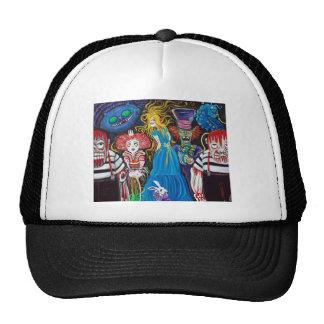 Alice no chapéu de Zombieland Boné