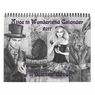 Alice no conto de fadas do calendário do país das