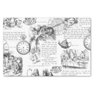 Alice no lenço de papel do país das maravilhas