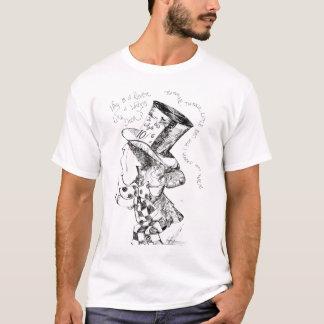 Alice no país das maravilhas: Esboço louco do Camiseta