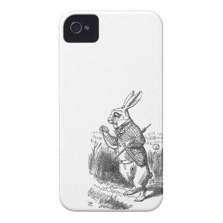 Alice no país das maravilhas o vintage branco 4S Capinha iPhone 4
